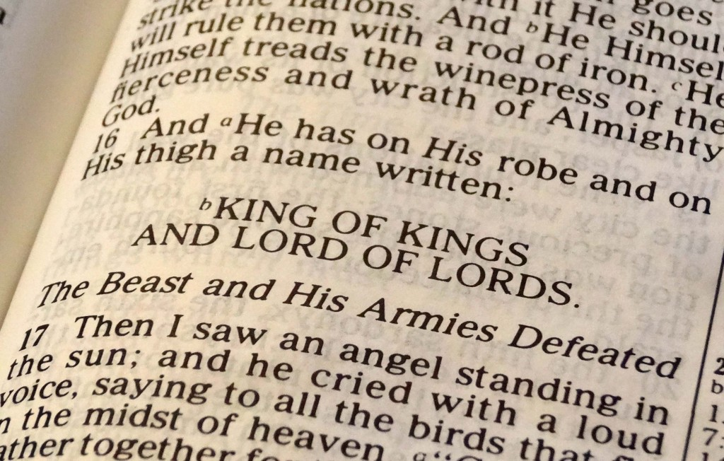 Christ as King and Lord